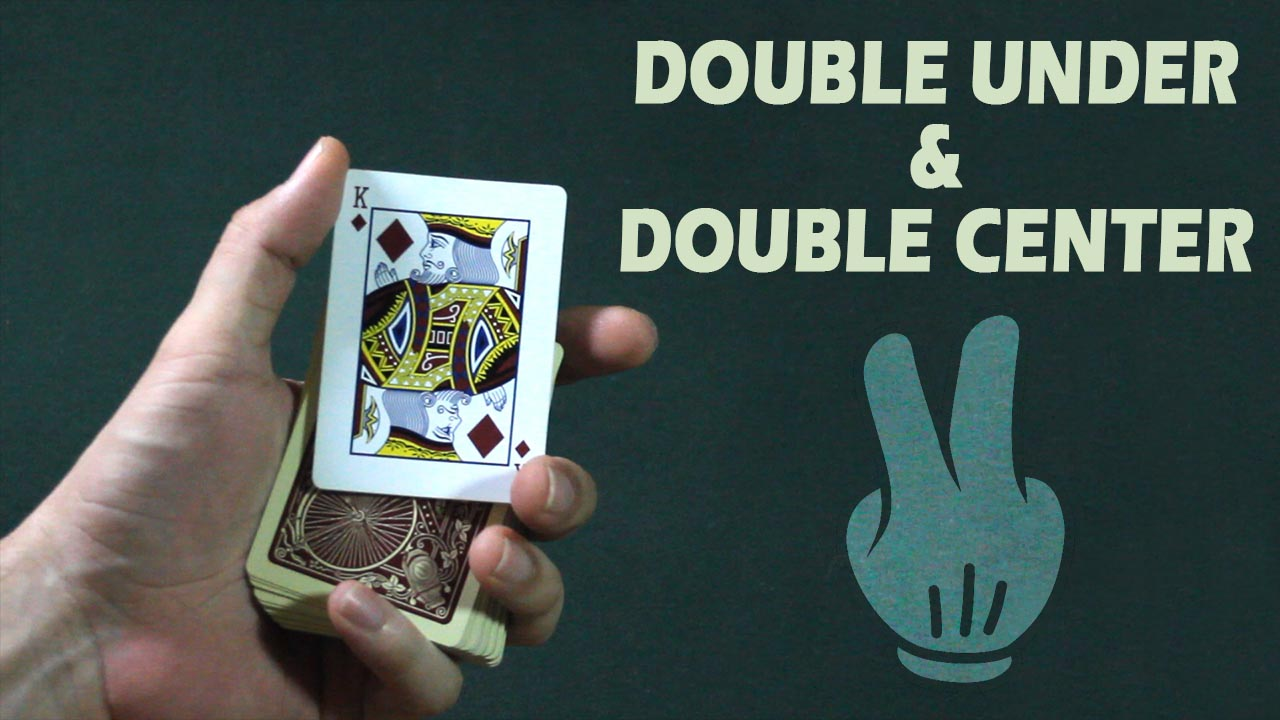Doble under and center