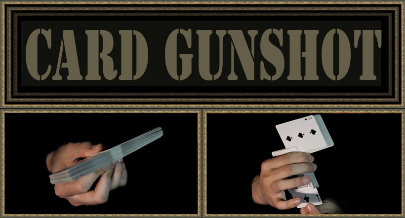 The Gunshot Card