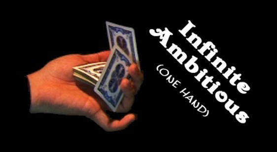 One Hand Infinite Ambitious